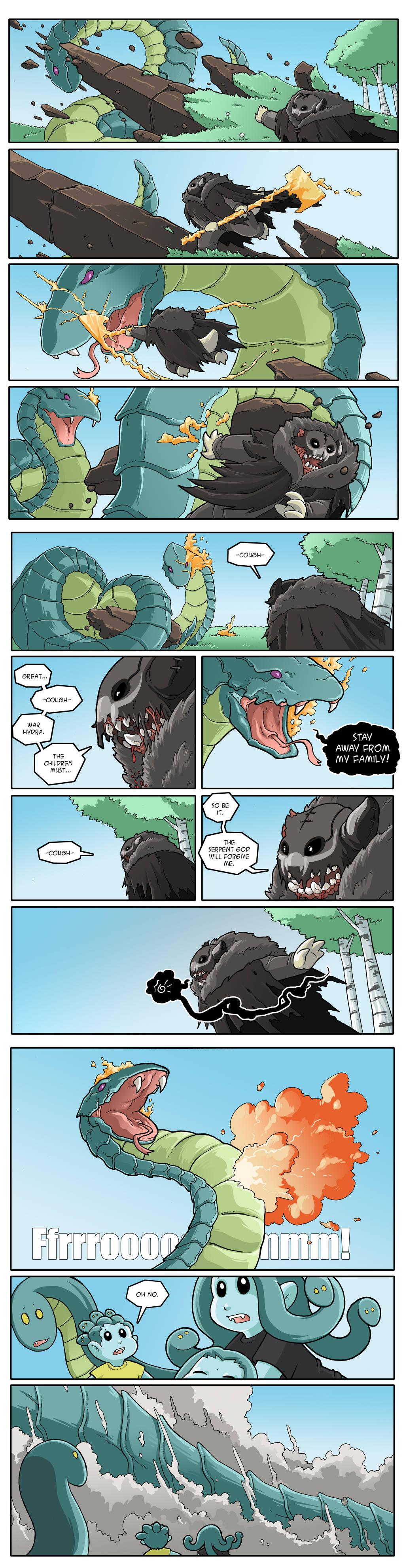 Modest Medusa 878 by JakeRichmond