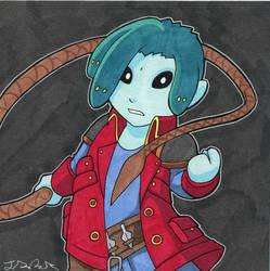Modest Medusa marker by JakeRichmond