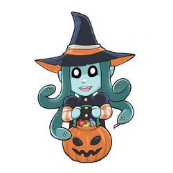 Halloween Modest Medusa