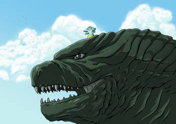 Modest Medusa and Godzilla
