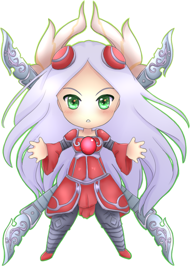 Chibi Irelia by Maririnn on DeviantArt
