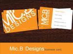 Mic.BDesigns Business Card
