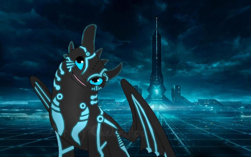Dubstep Spectrum, the Harmonious Rogue Tron_night_fury___karthago_by_owlceltlou-d5ezkvd