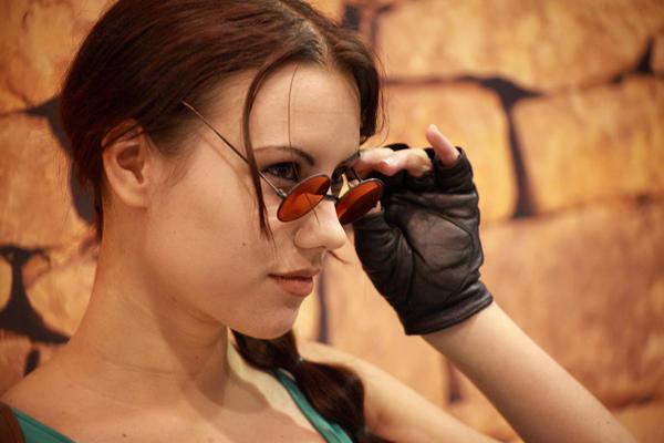 Lara Croft by Rayne-Wolfenstain