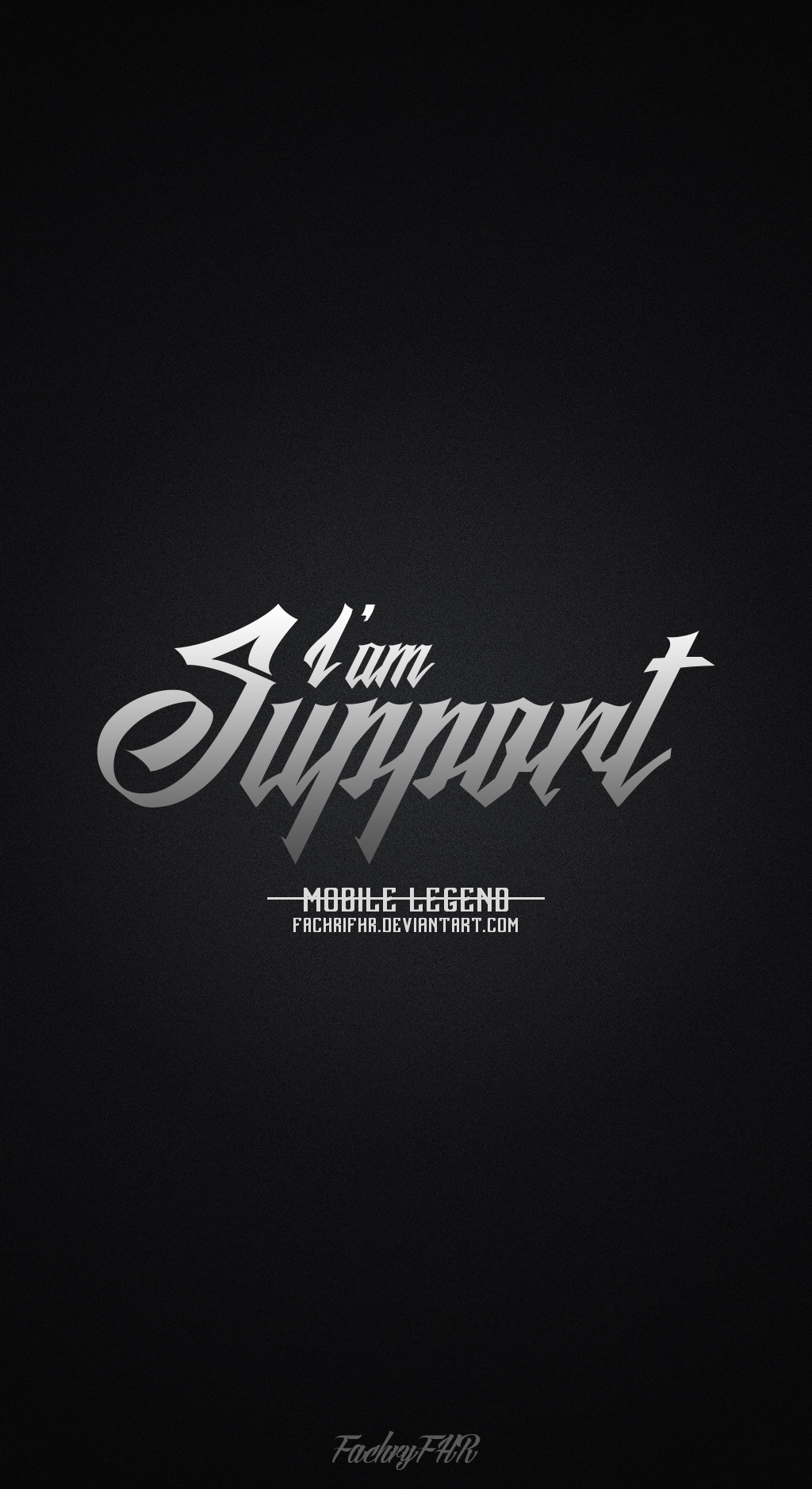 Wallpaper Phone Role Support Mobile Legend By FachriFHR On