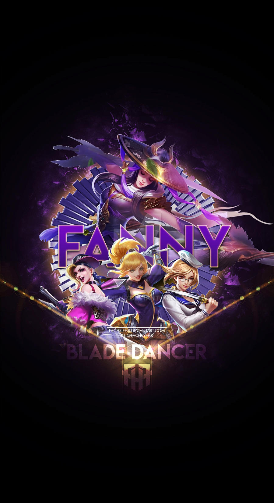 Wallpaper Phone Special Fanny Blade Dancer By Fachrifhr On Deviantart