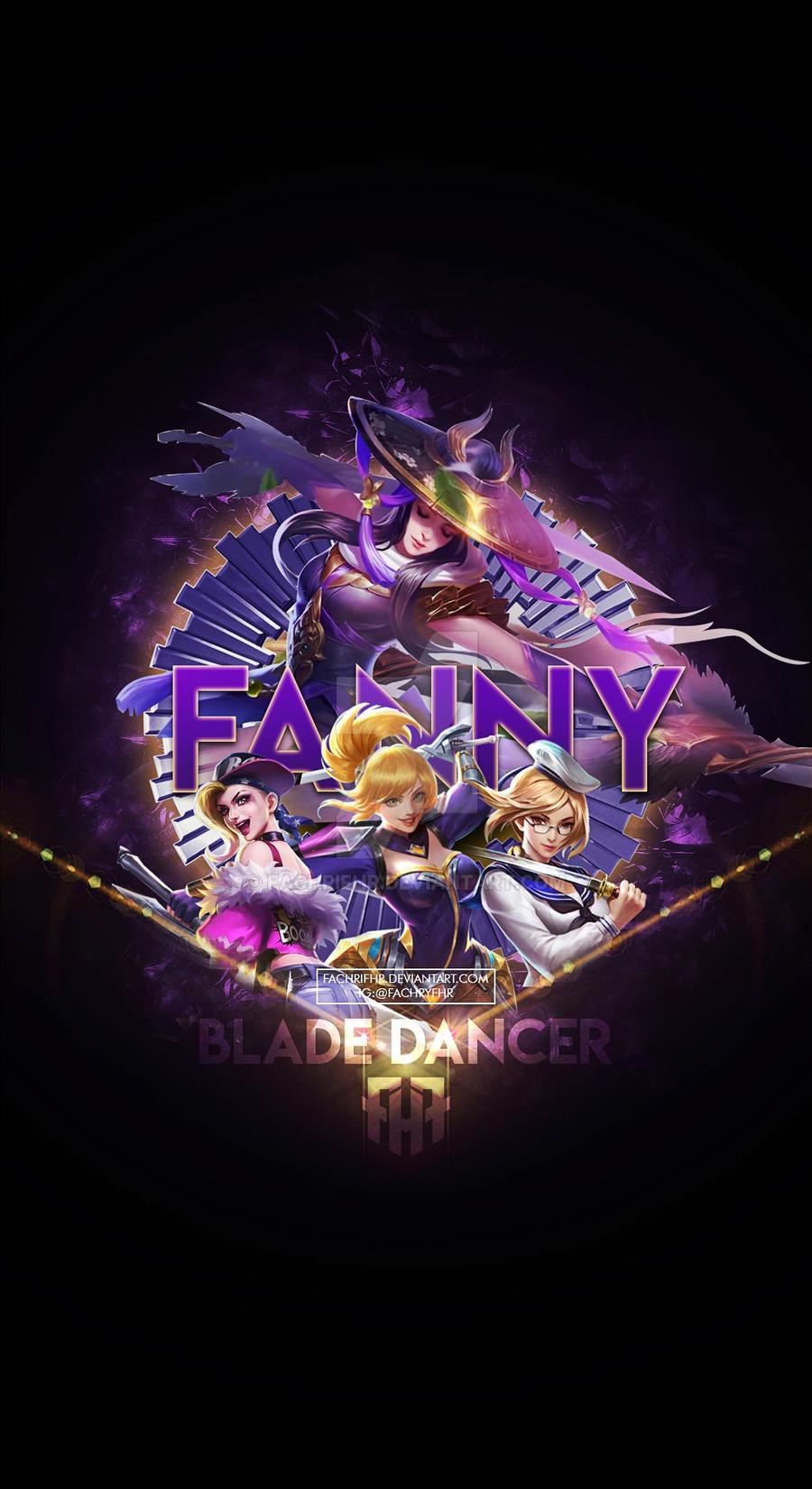 Wallpaper Phone Special Fanny Blade Dancer