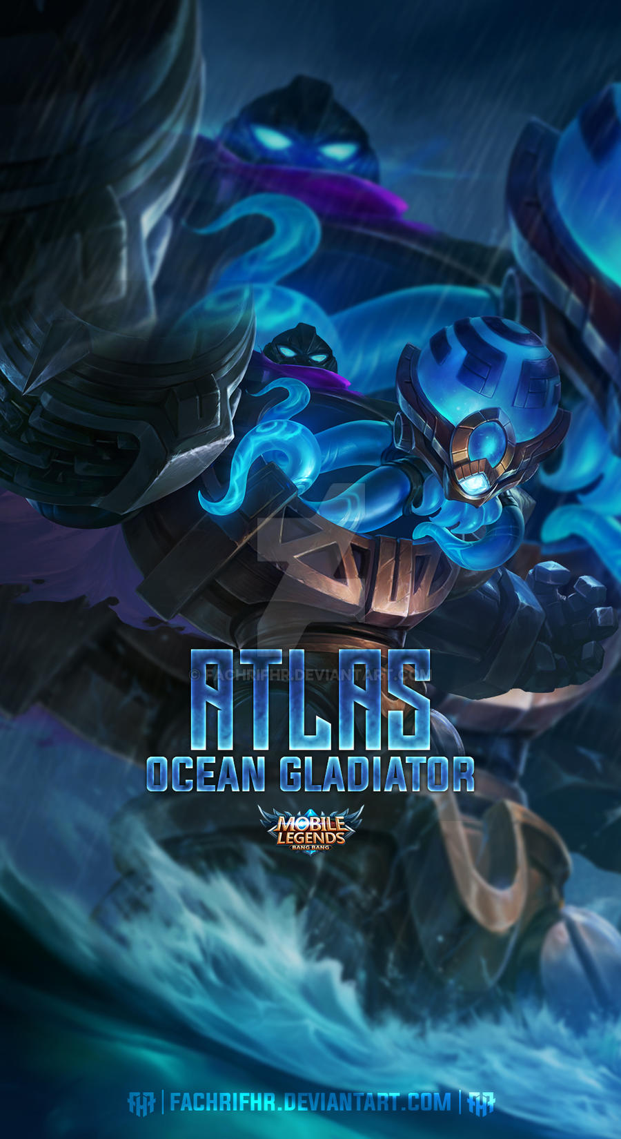 Atlas Ocean Gladiator By Fachrifhr On Deviantart