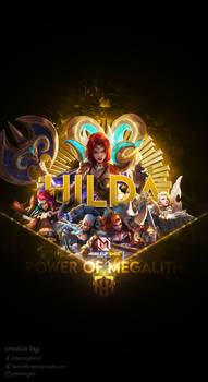 Wallpaper Phone Special Hilda Power of Megalith