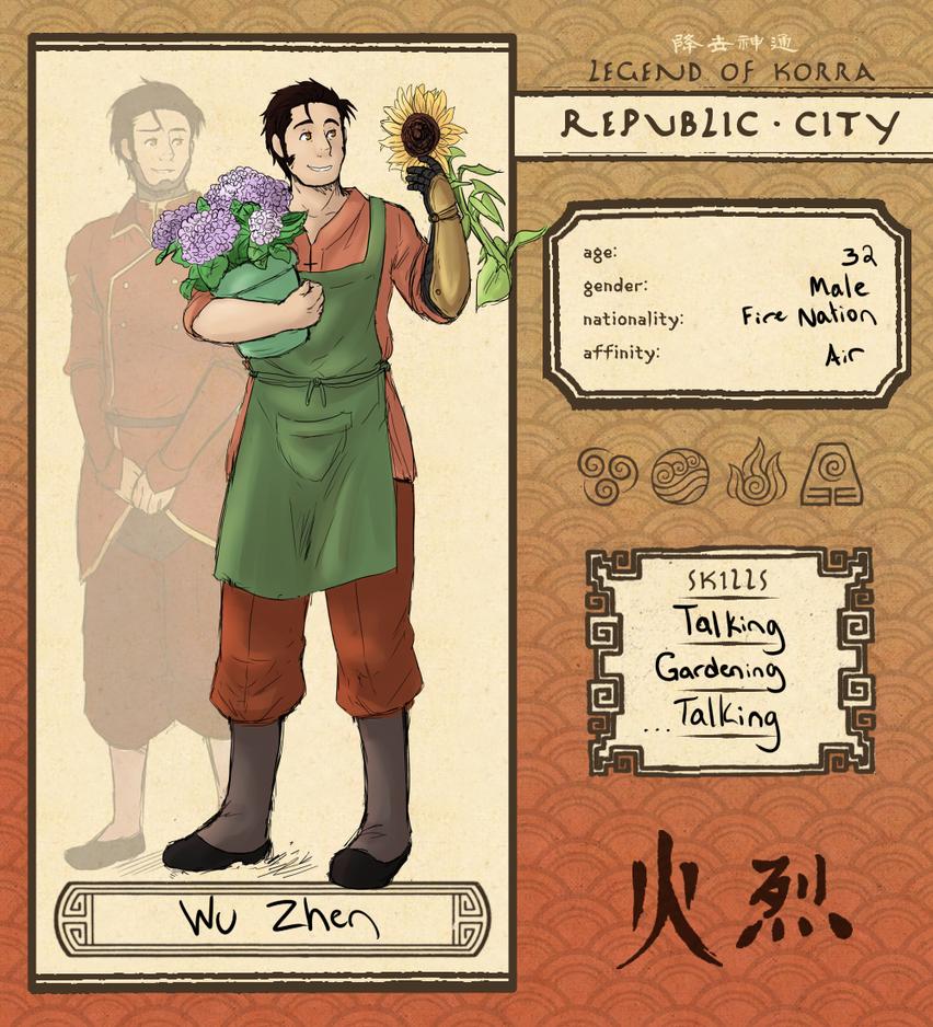 Wu Zhen app by ReverseAlchemist