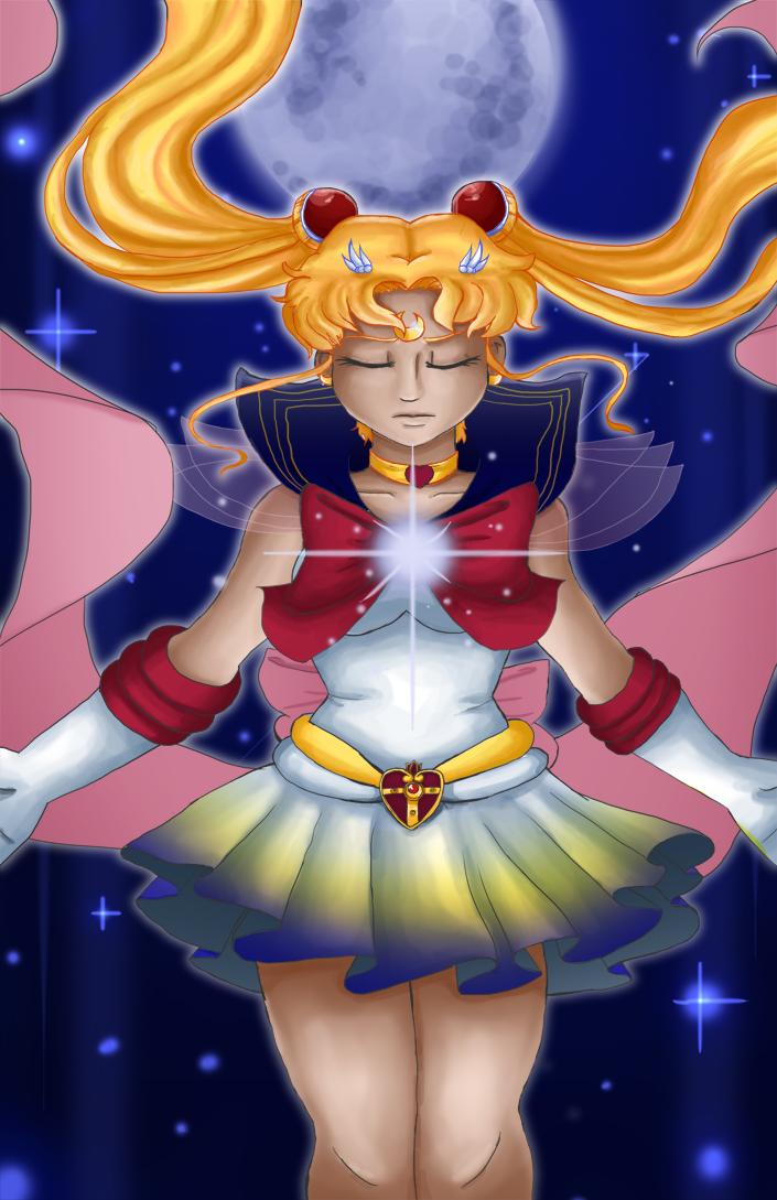 Super Sailor Moon! by dreamerswork