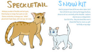 Speckletail and snowkit