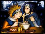 the naruto and the sasuke