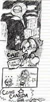 Hetalia Comic Doodle