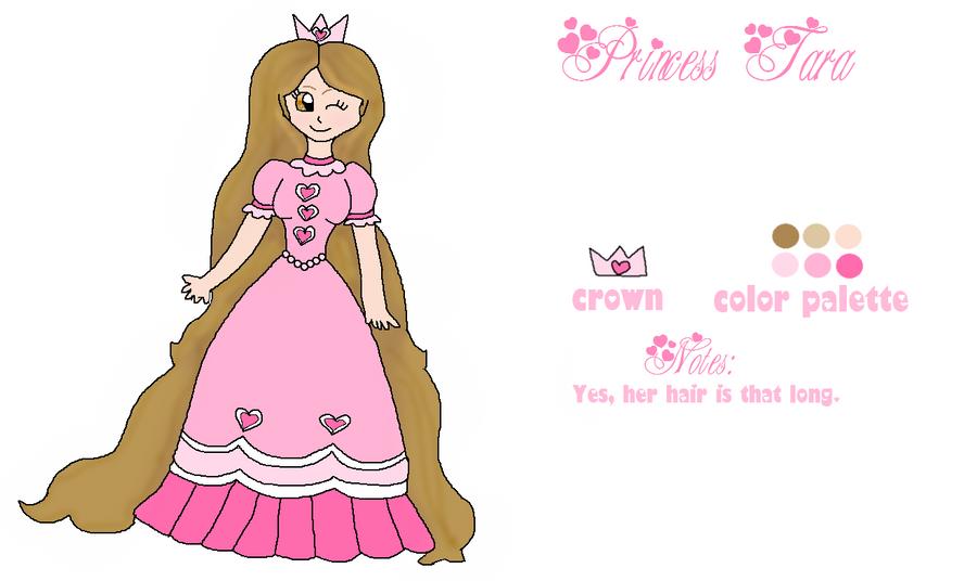 Princess Tara .Reference. by princesstaragirl