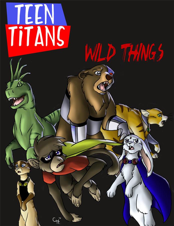 ¿¿ Que Titanimal hubiese sido Terra?? Teen_Titans___Wild_Things_by_Cylu_chan