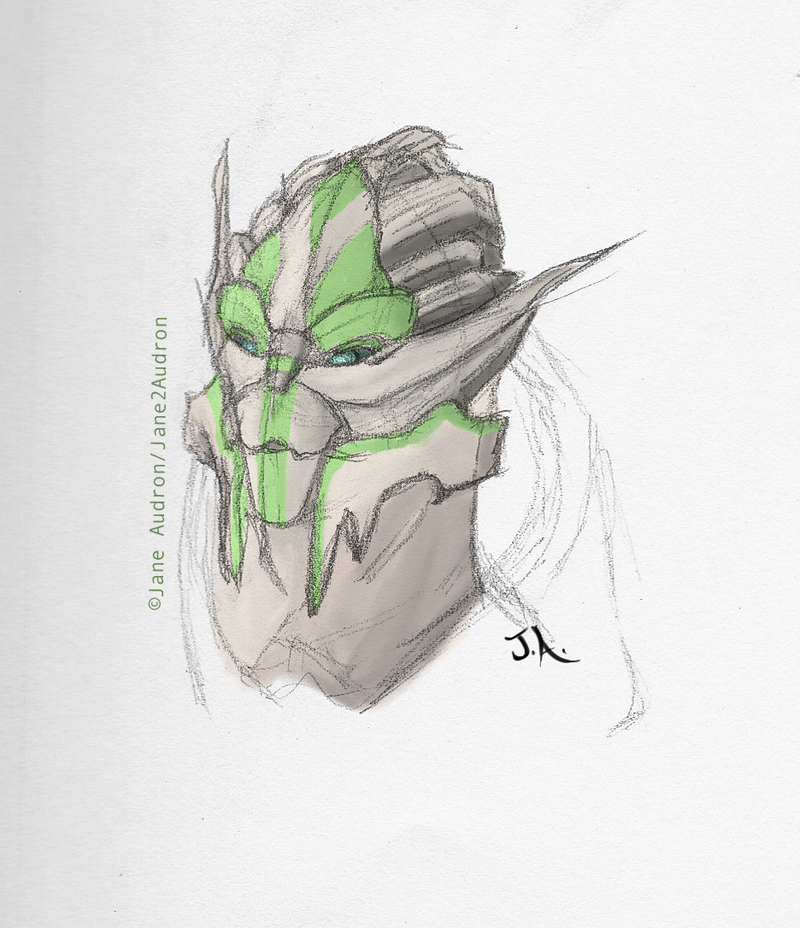 Turian OC: Turel Enolot by Jane2Audron