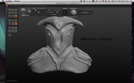 Messing around in Sculptris by Jane2Audron