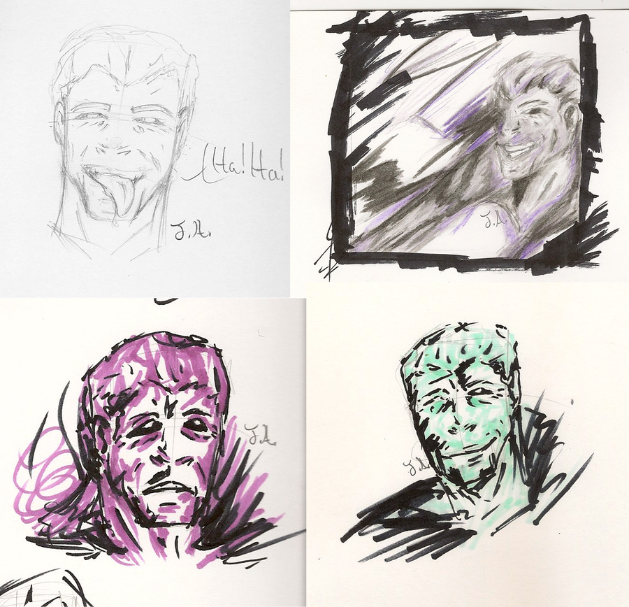 LLussive Man Doodles by Jane2Audron