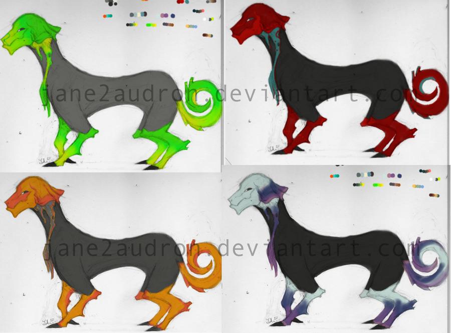 Tozoa Color Concepts by Jane2Audron