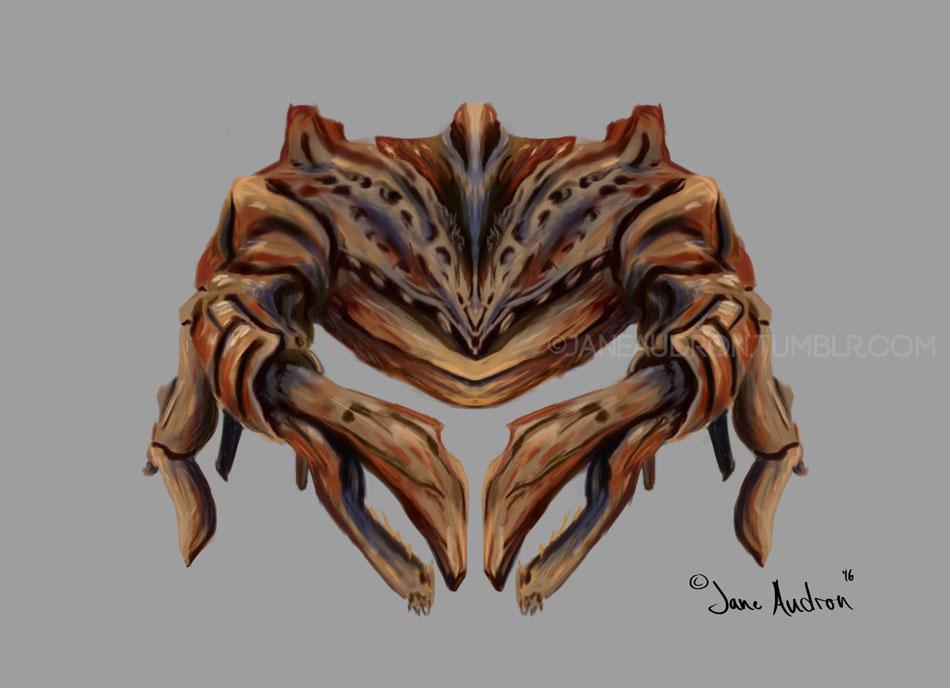 Alien Crab Concept by Jane2Audron