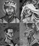 The Four Horsemen by Jane2Audron