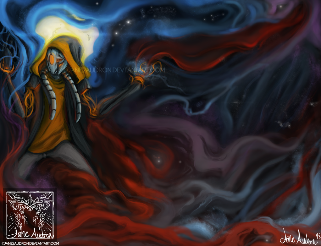 Galaxy Painter by Jane2Audron