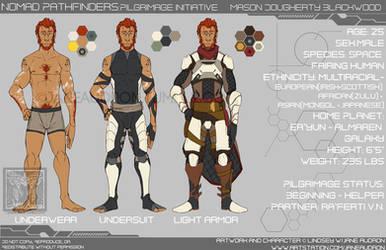 Character Sheet - NP: Mason Blackwood by Jane2Audron