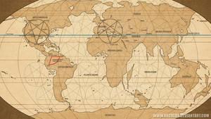 Esoteric Design World Map
