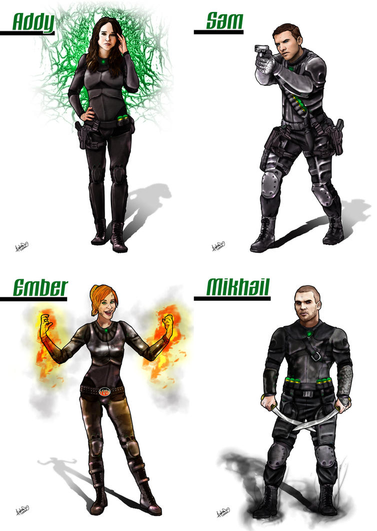 Chaos The Realmwalker Chronicles Characters by ARCrebs