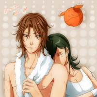 Lockon and Allelujah by yuki-k