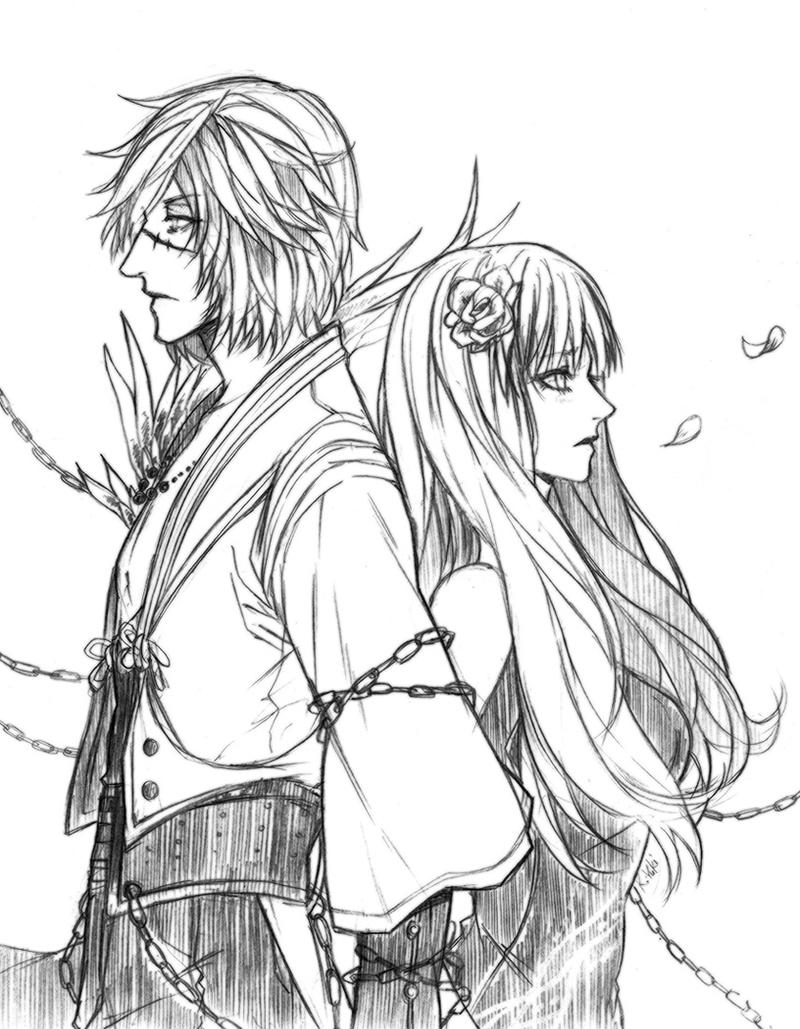 Blade and Soul: Lee and Yui by yuki-k