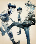 Gorillaz in 'The Times'