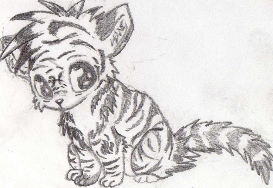 Cute Chibi Tiger Chibi Tiger by 1ember