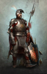 Knight by joewardart