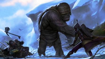 Mountain Troll by joewardart