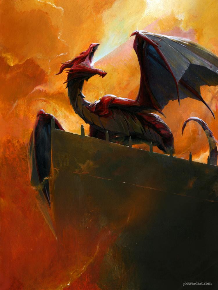 Red Dragon by joewardart
