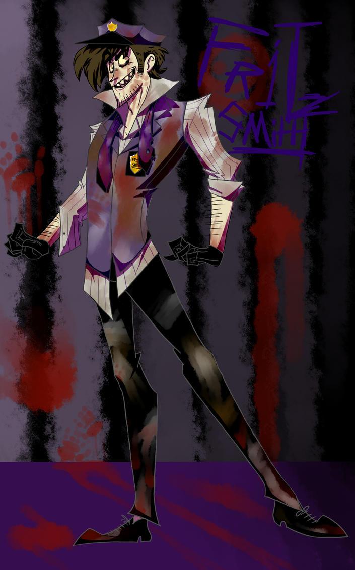 Fritz Smith/ Purple Guy by Shoe-Demon