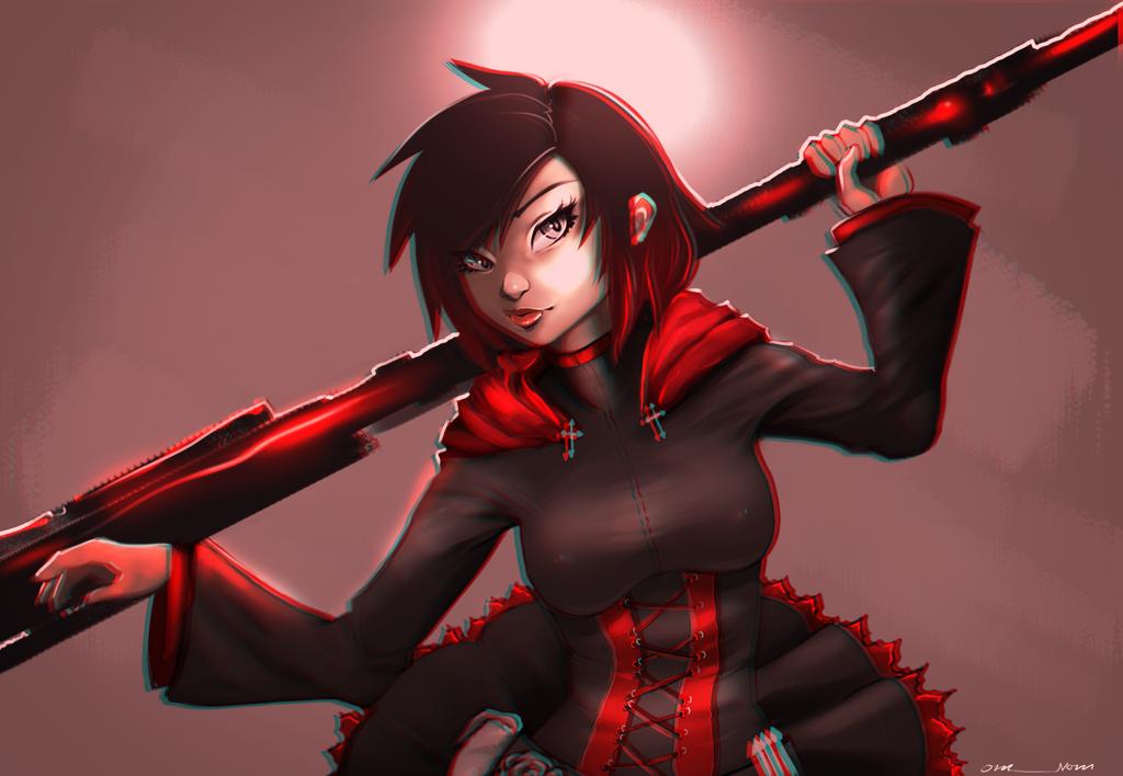 Ruby Rose by rachVerity