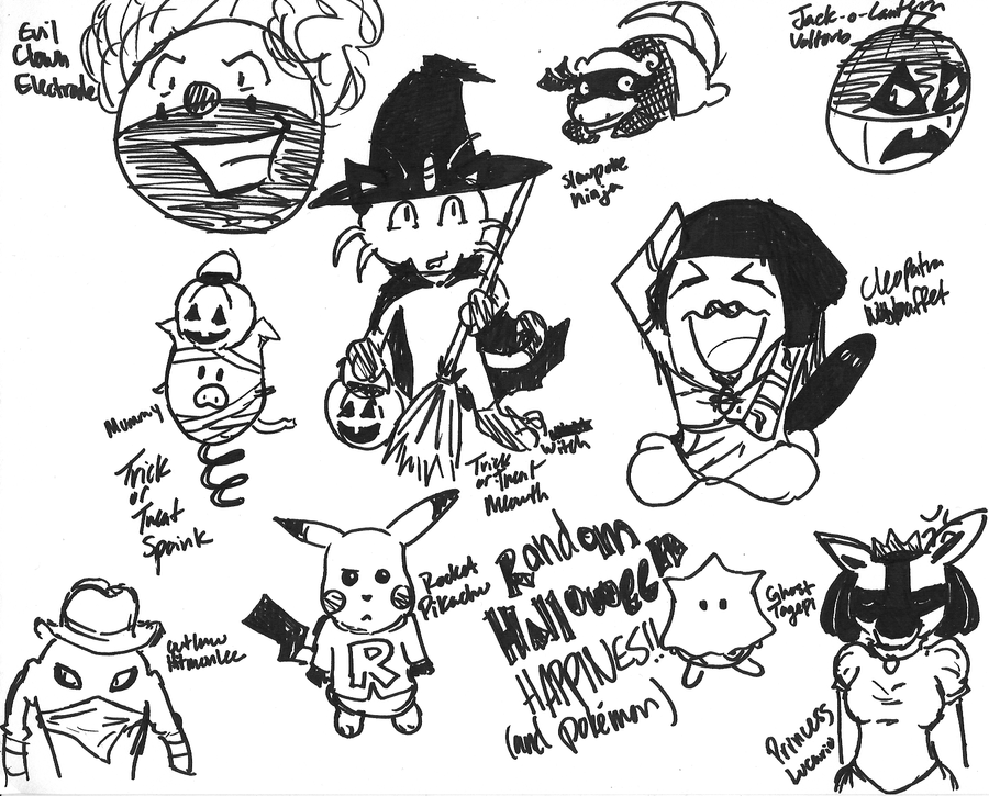 Halloween Pokemon Ideas By Gr8brittyn star On DeviantArt