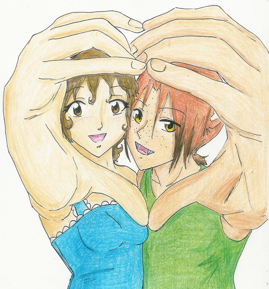 AT: Katcher and Madeleine by gr8brittyn-star