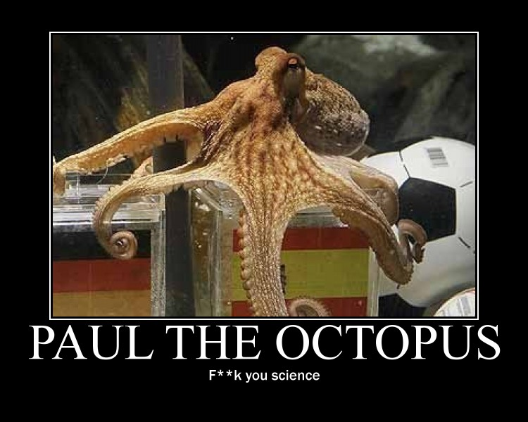 PAUL THE OCTOPUS by Samupipboy