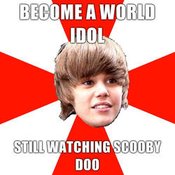 Justin da nerd by Samupipboy
