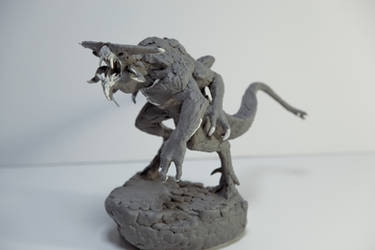 Xenotaur (Goliath) Sculpt 1 by ScottFlanders