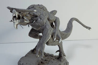Xenotaur (Goliath) Sculpt 3 by ScottFlanders