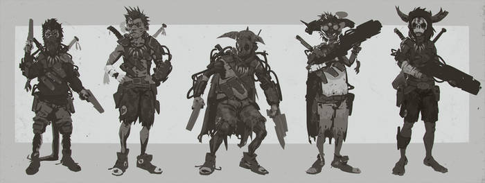 Evolve Trapper 'Jack' Character Concepts