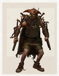 Evolve Trapper 'Jack' Character Concept