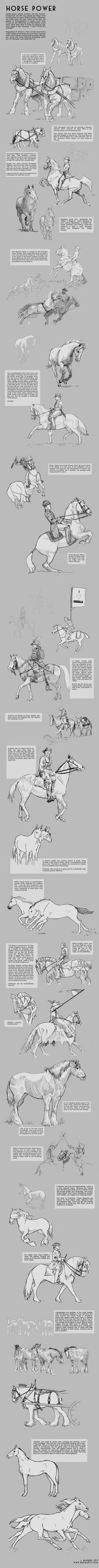 Horse Power Tutorial by sketcherjak