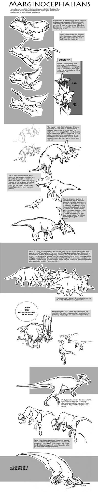 Marginocephalia Tutorial by sketcherjak