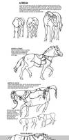 Historic Asian Horses